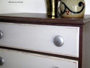 Dresser painted in Earth Tones