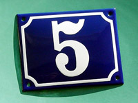 blue-enamel-house-number