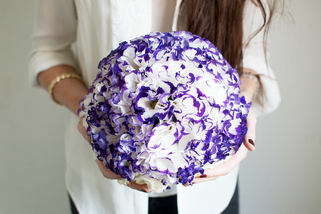 crepe paper flower ball 8