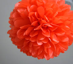 crepe paper flower ball 9