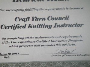 knitting instructor