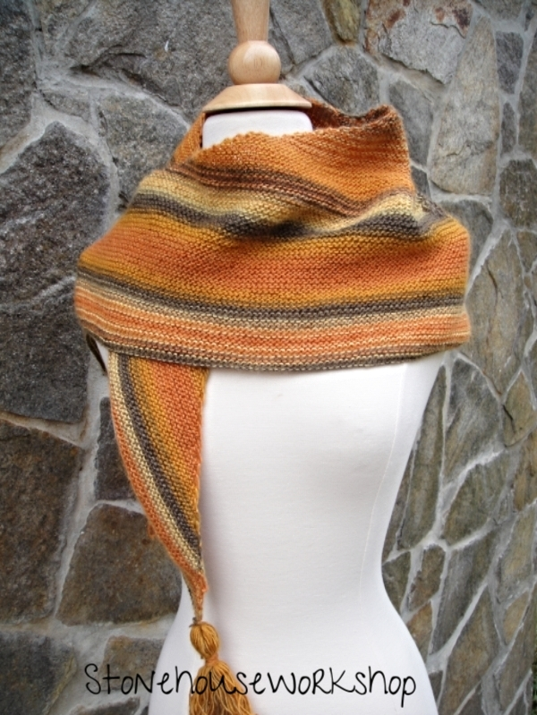 Fall shawl
